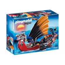 Playmobil Navio De Guerra Dos Dragões Código 5481
