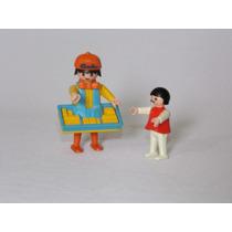 Playmobil Circo - Vendedor De Doces - Raro!