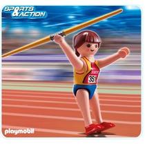 Playmobil Serie Olimpíadas Lançadora De Dardos Código 5201