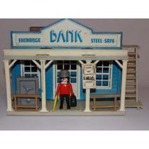 Playmobil Trol - Velho Oeste - Western Bank - Banco