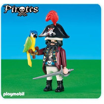 Playmobil Add On - Pirata Barba Negra - Cód. 6289 - Lacrado