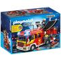 Playmobil Caminhão De Bombeiros Com Equipamentos - Sunny