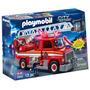 Playmobil 5980 - Caminhão De Bombeiros Com Escada (novo)