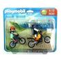 Playmobil Conjunto Motocross E Bicicross 5930