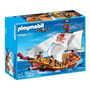 Playmobil 5618 Red Serpent Pirate Ship, Novo, Lacrado!