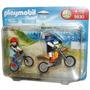 5930 Playmobil Esportes Montain Bike E Motocross