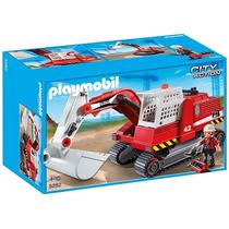 5282 Playmobil Cidade Escavadeira