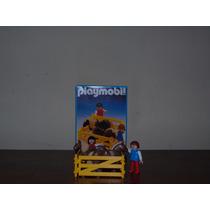 Playmobil Raro C/ Caixa 3579 Tratadora D Poneis Velho Oeste