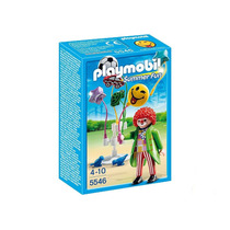 5546 Playmobil Parque De Diversões / Circo Palhaço C/ Bal...