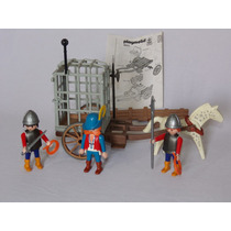 Playmobil Estrela - Medieval - Prisão Carroça