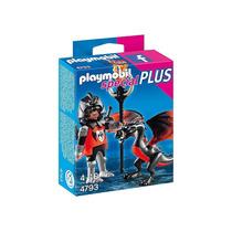 4793 Playmobil Special Plus Cavaleiro Com Dragão