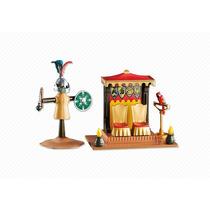 6375 Playmobil Cavaleiros Trono Do Rei E Boneco Add-on