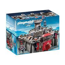 6001 Playmobil Cavaleiros Castelo Dos Cavaleiros Do Falcã...