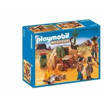 Playmobil - Western - Esconderijo De Bandidos 5250 P Entrega