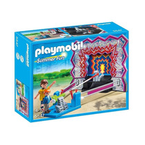 5547 Playmobil Parque De Diversões / Circo Jogo De Latas