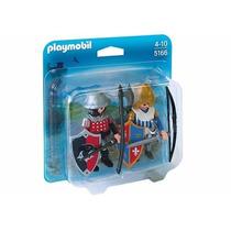 Playmobil 5166 Duo Pack C/ Guerreiros Medievais - No Blister