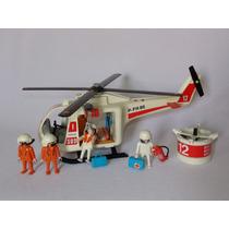 Playmobil Estrela - Grande Helicóptero De Resgate - 30.14.20