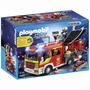 Playmobil Caminhão De Bombeiro Com Equipamentos Cod: 5363