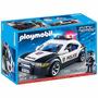 Carro De Polícia Playmobil 5614- 30 Peças