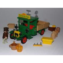 Playmobil Vitoriano - Caminhão Transport Union - Raro