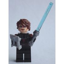 Boneco Mini Montável Tipo Lego- Anakin Skywalker - P Entrega