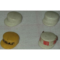 Playmobil Acessórios Lote2 C/4 Chapéus Garis Limpeza Pública
