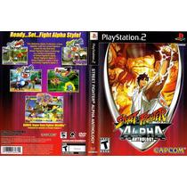 Patch Street Fighter Alpha Anthology Ps2