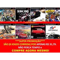 Moto Gp 08 Coleção Play 2 (kit 8 Jogos Ps2 Corrida