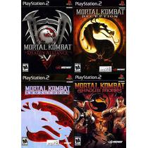 Mortal Kombat 4 Jogos Coleção Pacth Ps2