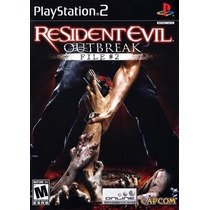 Resident Evil Outbreak File 2 Ps2 Patch + 2 De Brinde