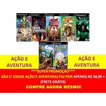 Up - Altas Aventuras, Arthur Playstation 2 (kit 7 Jogos Ps2
