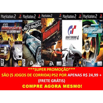 Need For Speed Underground 2 Play 2 (kit 5 Jogos Ps2 Corrida