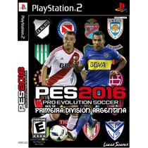 Patch Pes Primeira Division Argentina 2016 Ps2 Frete Gratis