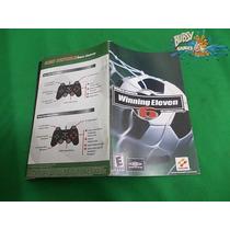 Playstation 2, Ps2 - Manual Winning Eleven 6