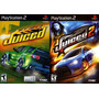 Juiced 1 E 2 Ps2 (kit 2 Jogos Playstation 2) Corrida