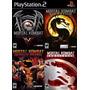 Mortal Kombat Deadly Allian Play Station 2 (kit 4 Jogos Ps2)