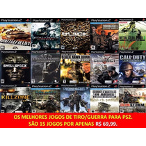 Conflict Global Play Station 2 (kit 15 Jogos Ps2 Guerra