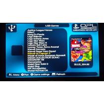 Hd Externo 250gb Play2, Ps2+ Memory Card +100 Games Brindes