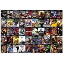 Gta San Andreas Mais 50 Jogos Diversos Ps2 (play Station 2)
