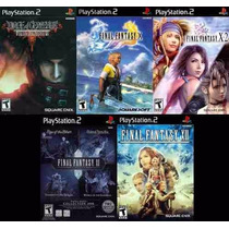 Final Fantasy Vii, X, Xii, X-2 Playstation 2 (5 Jogos Ps2