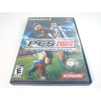 Jogo Playstation Two (2) - Pes 2009 Original Completo