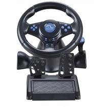 Multilaser Volante Racer 3 Em 1 Para Ps2, Ps3 E Pcjs073 Azul