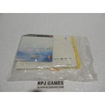 Vendo Somente O Manual Original Playstation 2 Com Cd
