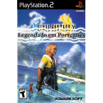 Patch Final_fantasy_x Pt Br - Ps2 E Pc