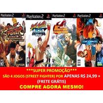 Street Fighter Anniversary Ps2 (kit 4 Jogos Play Station 2