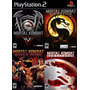 Mortal Kombat Deadly Alliance Ps2 (4 Jogos Play Station 2