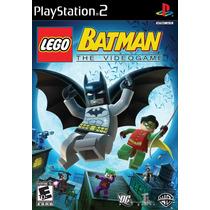 Jogo Original - Lego Batman Playstation 2