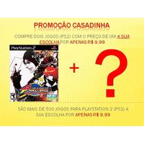 The King Of Fighters 10 Em 1 Ps2 Kof + 1 Jogo A Sua Escolha
