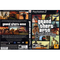 Dvd Jogo Grand Theft Auto: San Andreas Ps2