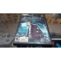 Harry Potter And The Half Blood Prince Seminovo Ps2 Original